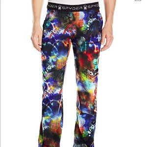 Spyder Women's Tye Dye Print Dawn Pant Size Small